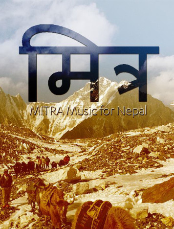 MITRA – A Mountain of Love for Nepal